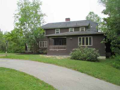 Waterville Valley Single Family Home For Sale: 30 Snows Mountain Road