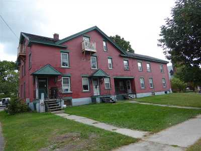 St. Albans City Multi Family Home For Sale: 29-31 Bank Street