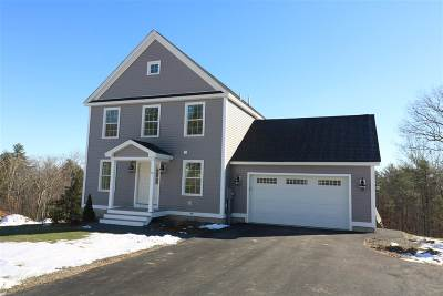 Barrington Single Family Home Active Under Contract: Lot 11 Moose Ridge Way
