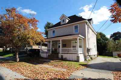 Rutland, Rutland City Multi Family Home For Sale: 40 East Center Street