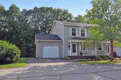 Chittenden County Condo/Townhouse For Sale: 26 Pointe Drive