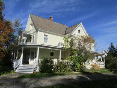 Richford Single Family Home For Sale: 34 Elm Avenue