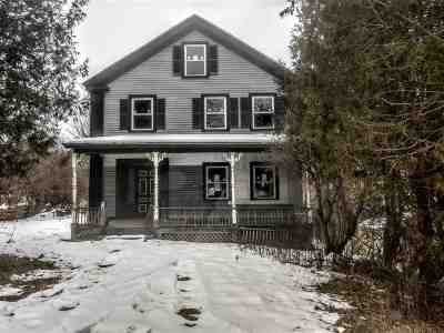 Haverhill Single Family Home For Sale: 689 Dartmouth College Highway