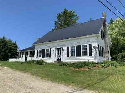 Hardwick Single Family Home For Sale: 3481 Vt Rt 16