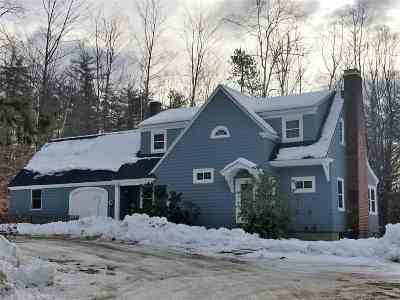 Conway Single Family Home For Sale: 32 Hurricane Mountain Road