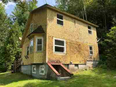 Whiting Single Family Home For Sale: 7073 Vt Route 100