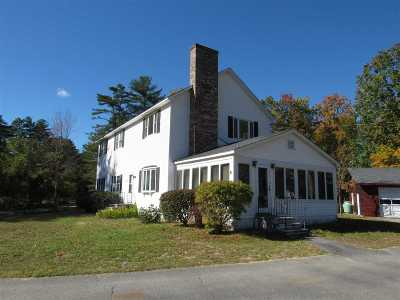 Moultonborough Single Family Home For Sale: 10 Black Point