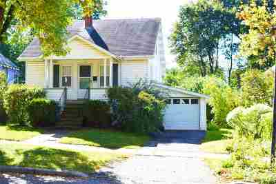 Chittenden County Single Family Home For Sale: 27 Scarff Avenue