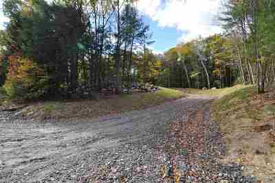 Weare Residential Lots & Land For Sale: 402-2 North Stark Highway
