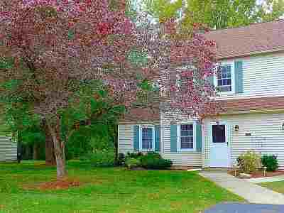 Chittenden County Condo/Townhouse For Sale: 17 Brickyard Road #13