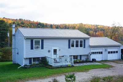 Underhill Single Family Home For Sale: 660 Vt Route 15