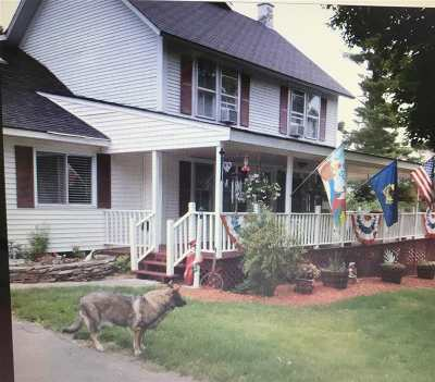 Whiting Single Family Home For Sale: 3358 Vt. Rte 100 Street