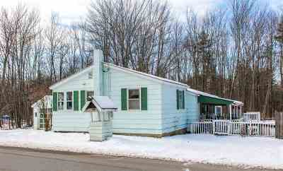 Chittenden County Single Family Home For Sale: 220 Manley Road