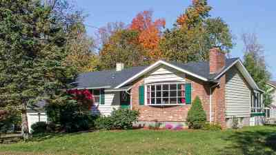Chittenden County Single Family Home For Sale: 30 Imperial Drive