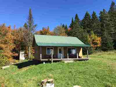 Caledonia County Single Family Home For Sale: 130 Windy Hill Road