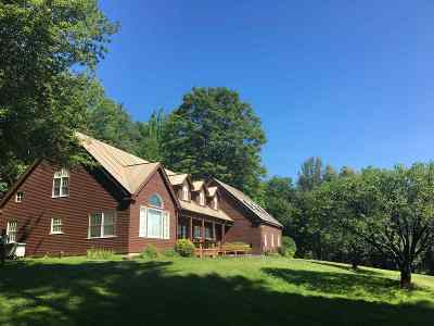 Fairlee Single Family Home Active Under Contract: 1537 Terry Hill Road