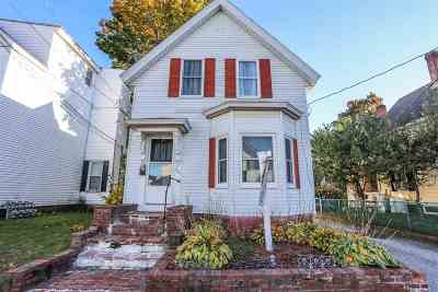 Manchester Single Family Home For Sale: 516 Granite Street