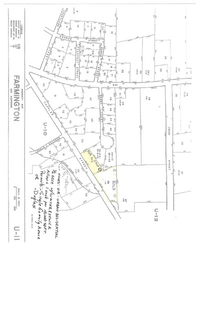 Strafford County Residential Lots & Land For Sale: Lot 3 Charles Street #Map U11,