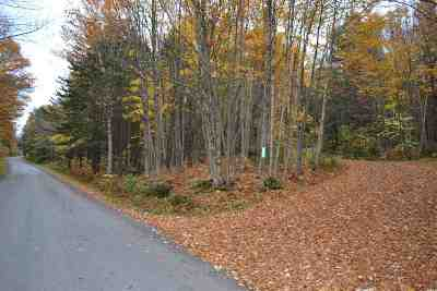 Montgomery Residential Lots & Land For Sale: 1496 Hazen Notch Road #31