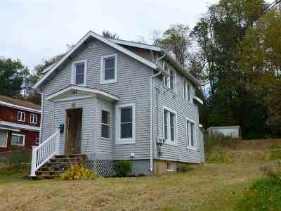 Rutland City VT Single Family Home For Sale: $114,900