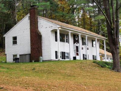 Amherst Single Family Home Active Under Contract: 243 Boston Post Road