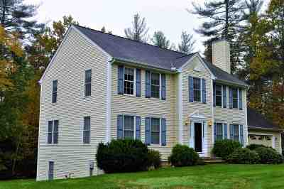Merrimack Single Family Home Active Under Contract: 3 Ellie Drive