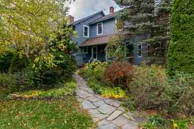 Shelburne Single Family Home For Sale: 4450 Dorset Street