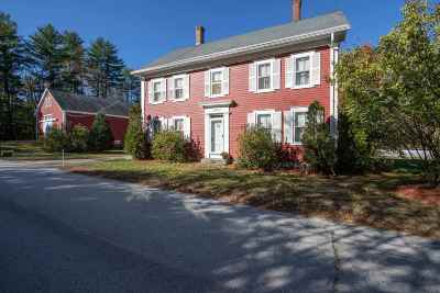 Chichester Single Family Home For Sale: 8 Smith Sanborn Road