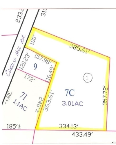 Meredith Residential Lots & Land For Sale: Corliss Hill Road #Lot 7C