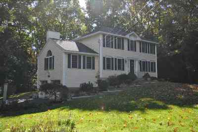 Goffstown Single Family Home Active Under Contract: 32 Benjamin Drive