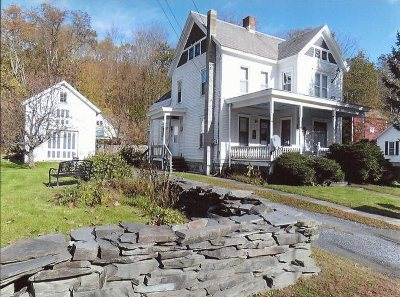 Pawlet Single Family Home For Sale: 2792 Vt. Route 153 Common