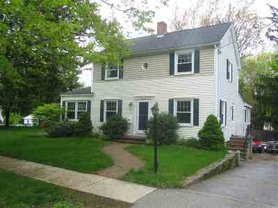 Single Family Home For Sale: 187 Woodbury Avenue