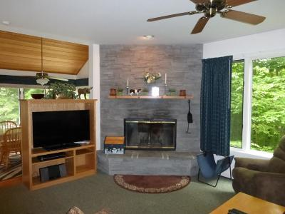 Cambridge Condo/Townhouse For Sale: Trailside Executive 9 At Smugglers' Notch Resort #9