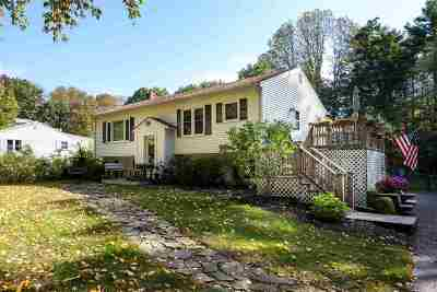 York Single Family Home For Sale: 87 Chases Pond Road Road