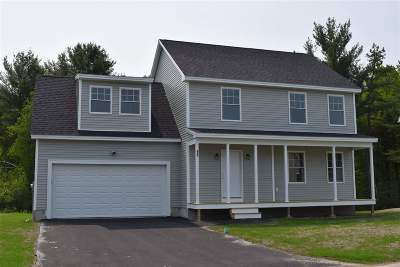 Rochester Single Family Home For Sale: 91 Millers Farm (Lot 17) Drive