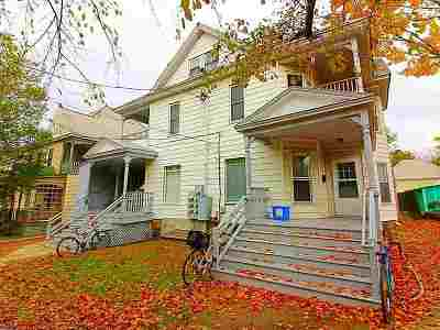 Chittenden County Multi Family Home For Sale: 154-156 Loomis Street