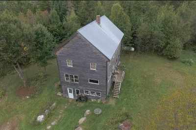 Caledonia County Single Family Home For Sale: 83 Kellogg Mill Road