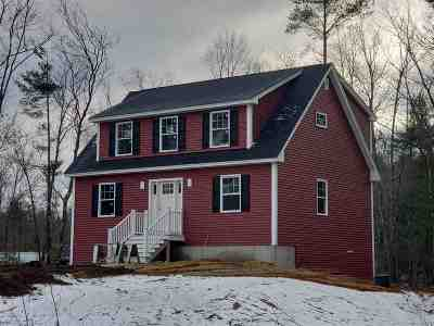 Rochester Single Family Home For Sale: Lot 3-2 Huckins Lane