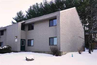Chittenden County Condo/Townhouse For Sale: 9 Hawthorne Circle