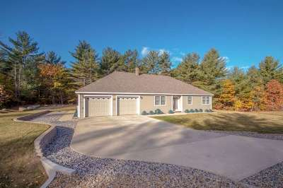 Conway Single Family Home For Sale: 78 Pemigewasset Drive