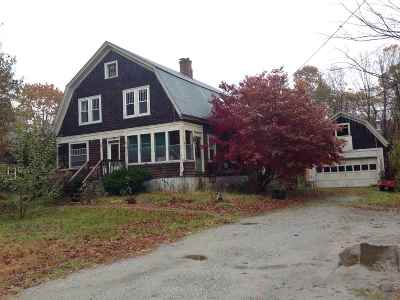 Belknap County, Carroll County, Cheshire County, Coos County, Grafton County, Hillsborough County, Merrimack County, Rockingham County, Strafford County, Sullivan County Single Family Home For Sale: 25 Park Street