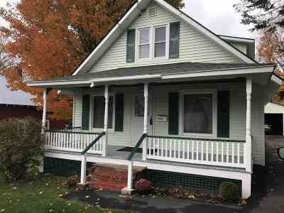 St. Albans City VT Single Family Home Sold: $171,000