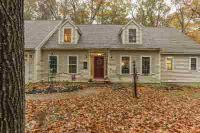 Durham Single Family Home For Sale: 15 Noble K. Peterson Drive