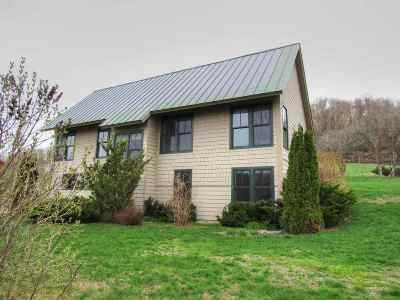 Hinesburg Single Family Home For Sale: 135 New South Farm Road