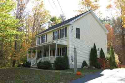 Weare Single Family Home For Sale: 1193 River Road