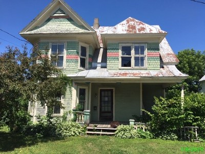 Richford Single Family Home For Sale: 21 Sweat Street