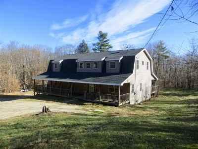 Belknap County Single Family Home For Sale: 119 Lockes Corner Road