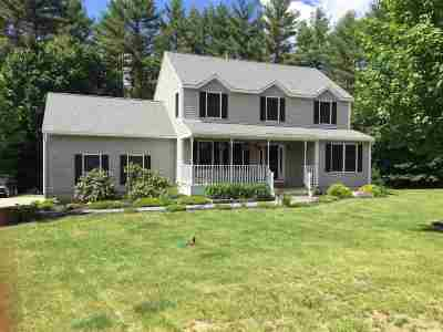 Merrimack County Single Family Home Active Under Contract: 11 Farmwood Road