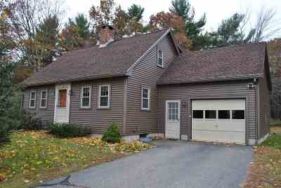 Somersworth Single Family Home Active Under Contract: 10 Granite Way