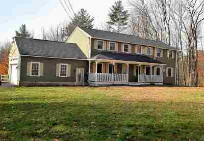 Merrimack County Single Family Home For Sale: 7021 Pleasant Street Extension